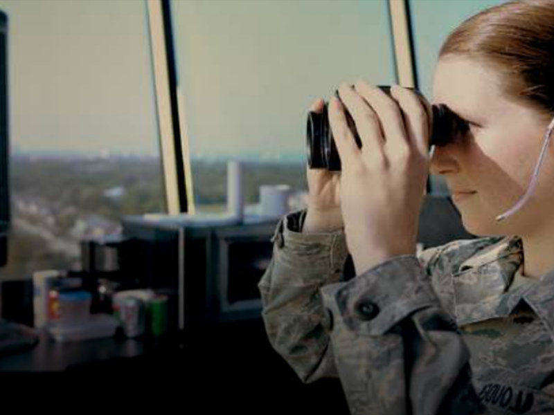 In the Airforce, learn to be a Air Traffic Controller