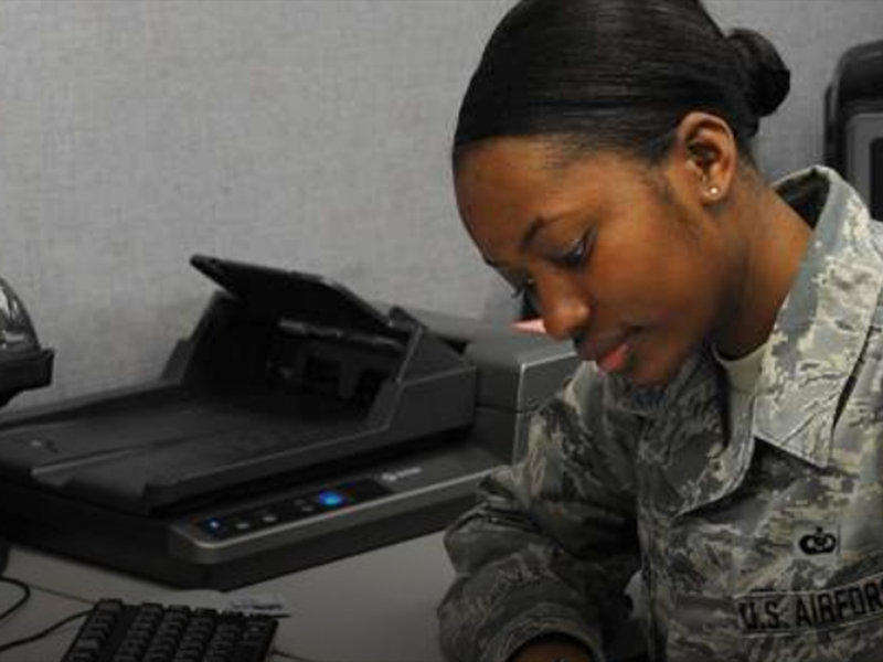 In the Airforce, learn to be a Logistics Manager