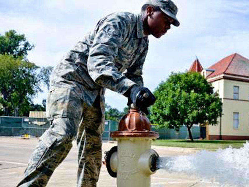 In the Airforce, learn to be a Plumber, Pipefitter, or Steamfitter