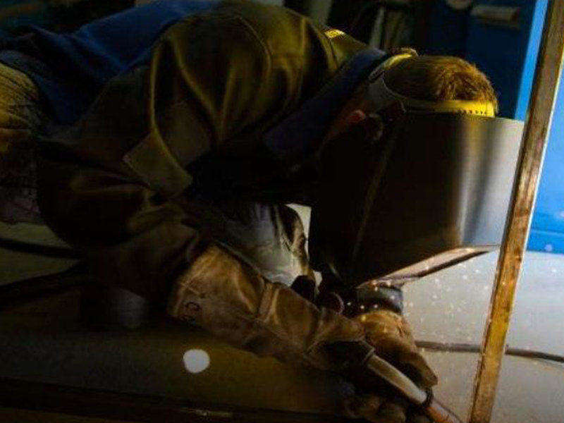 In the Airforce, learn to be a Welder